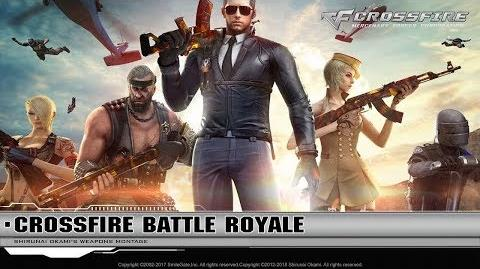 CrossFire China Battle Royale Top 1 Chế độ sinh tồn Top 1