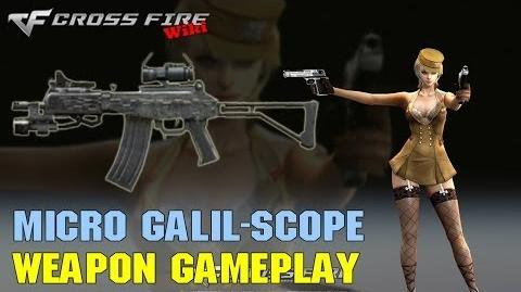 CrossFire - Micro Galil Scope - Weapon Gameplay