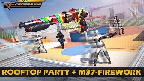 CrossFire China Rooftop Party (with M37 Skateout-Firework) Guess Me Map Mode Gameplay