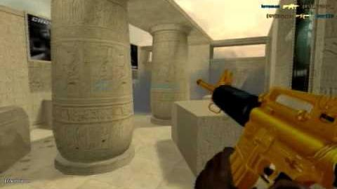 Crossfire M4A1 Gold Gameplay