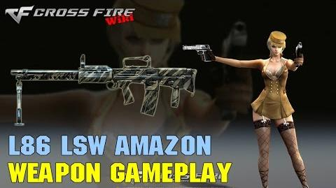 CrossFire - L86 LSW Amazon - Weapon Gameplay