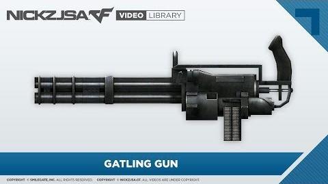 Gatling Gun CrossFire 2