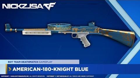 American-180-Knight Blue CROSSFIRE China 2.0