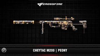 CF Cheytac M200 Peony