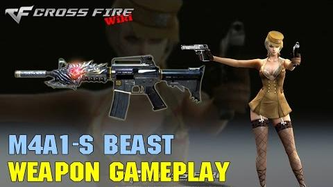 CrossFire - M4A1-S Beast - Weapon Gameplay