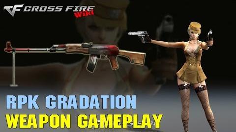 CrossFire - RPK Gradation - Weapon Gameplay