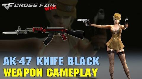 CrossFire - AK-47 Knife Black - Weapon Gameplay