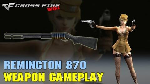 CrossFire - Remington 870 - Weapon Gameplay