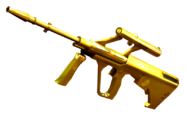 AUG Gold Side View