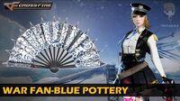 CrossFire Vietnam War Fan-Blue Pottery