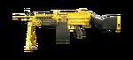 M249 MINIMI-GOLD