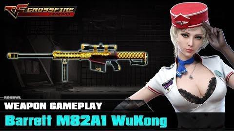 Crossfire Legends - Barrett M82A1 WuKong
