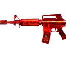 M4A1-S Red Penguin
