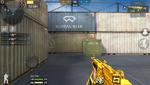 M249 Minimi-Gold HUD