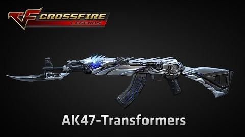 CrossFire Legends AK47-TRANSFORMER