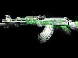 AK-47 Knife Azure Jasmine