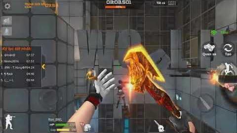 Crossfire Legends - Không Gian Ảo - Chế độ Parkour