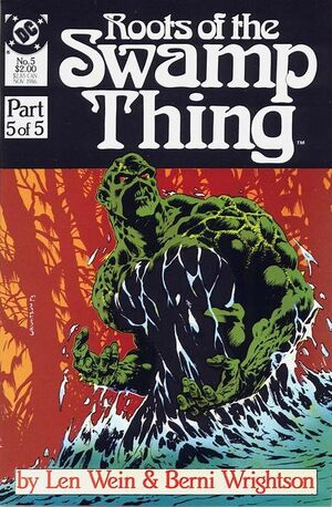 Roots of the Swamp Thing Vol 1 5