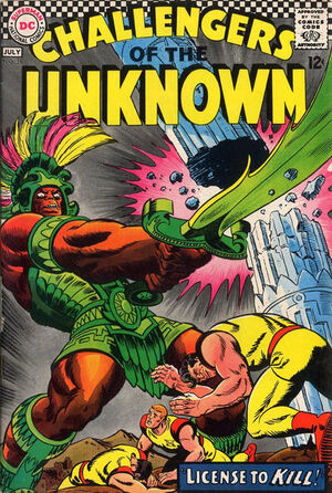 Challengers of the Unknown Vol 1 56