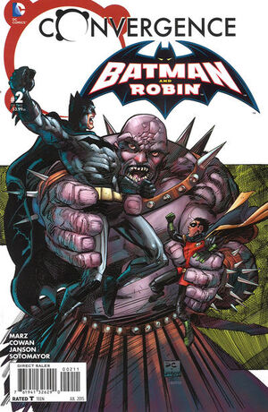 Convergence Batman and Robin Vol 1 2