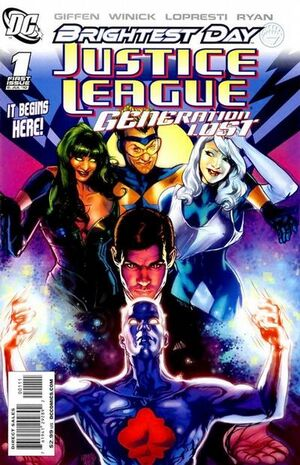 Justice League Generation Lost Vol 1 1