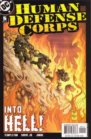 Human Defense Corps Vol 1 5