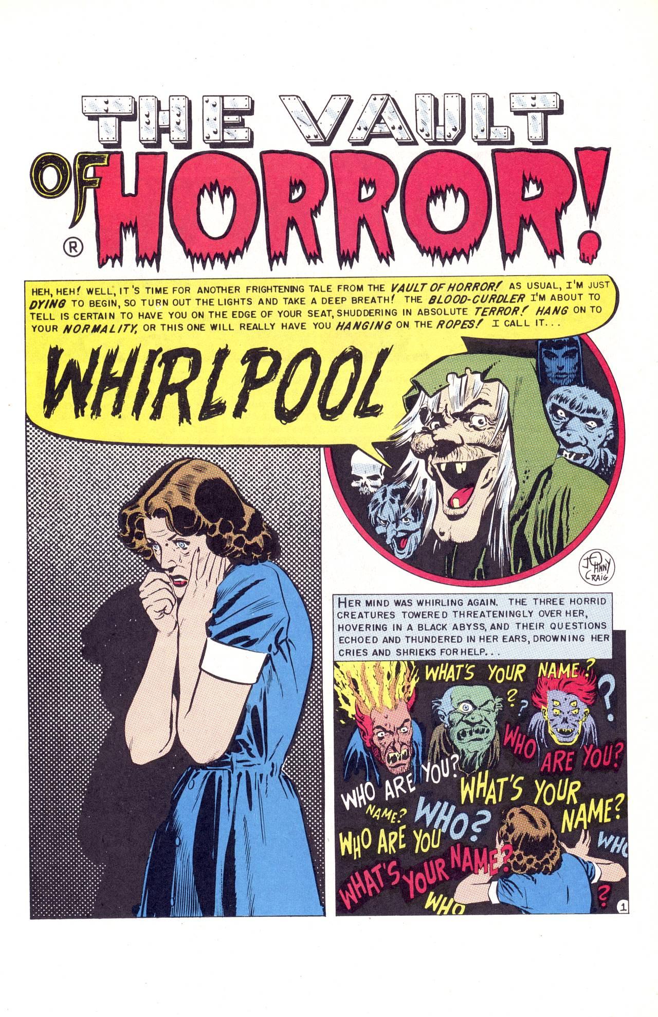 Vault of Horror Vol 1 32 | Hey Kids Comics Wiki | FANDOM