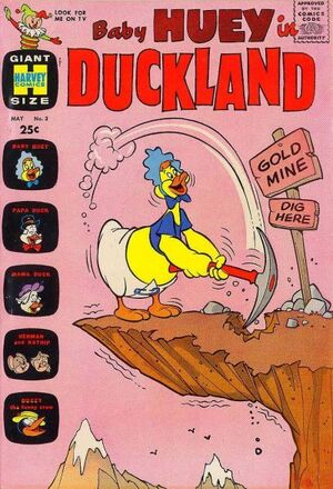 Baby Huey in Duckland Vol 1 3