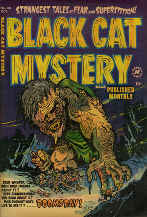 Black Cat Mystery Comics Vol 1 40
