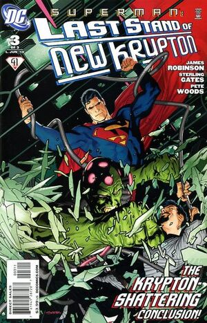 Superman Last Stand of New Krypton Vol 1 3