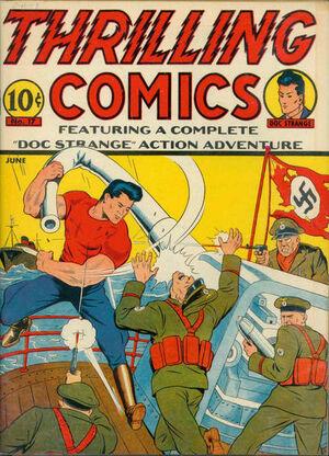 Thrilling Comics Vol 1 17