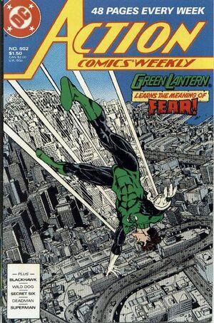 Action Comics Vol 1 602
