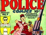 Police Comics Vol 1