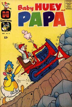 Baby Huey and Papa Vol 1 13