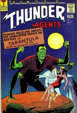 T.H.U.N.D.E.R. Agents Vol 1 9