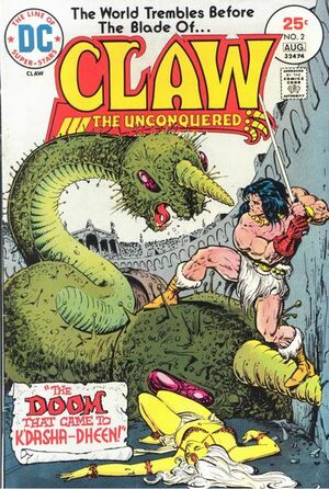 Claw the Unconquered Vol 1 2