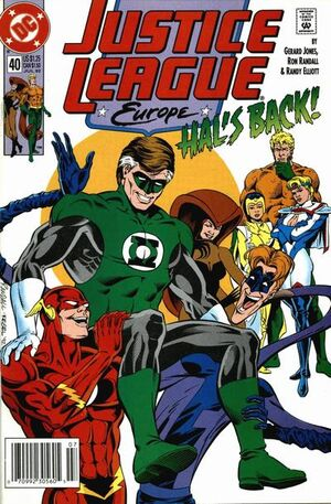 Justice League Europe Vol 1 40