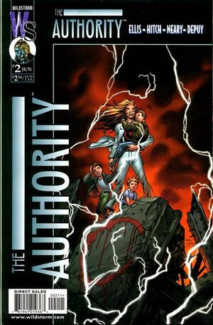 Cover for The Authority #2 (1999)
