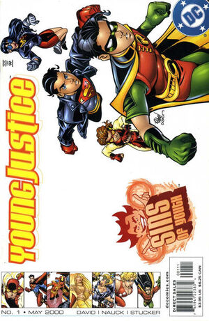 Young Justice Sins of Youth Vol 1 1