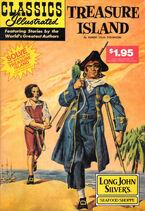 Classics Illustrated Treasure Island (Long John Silver's Edition) Vol 1 1