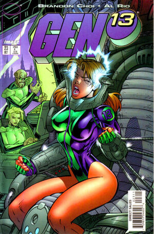 Cover for Gen¹³ #23 (1997)