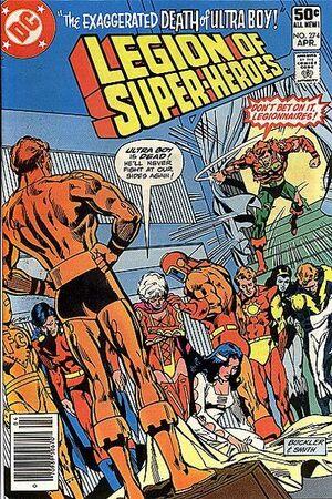 Legion of Super-Heroes Vol 2 274