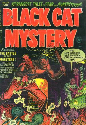 Black Cat Mystery Comics Vol 1 36