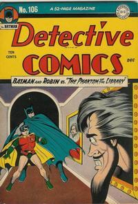 Detective Comics Vol 1 106