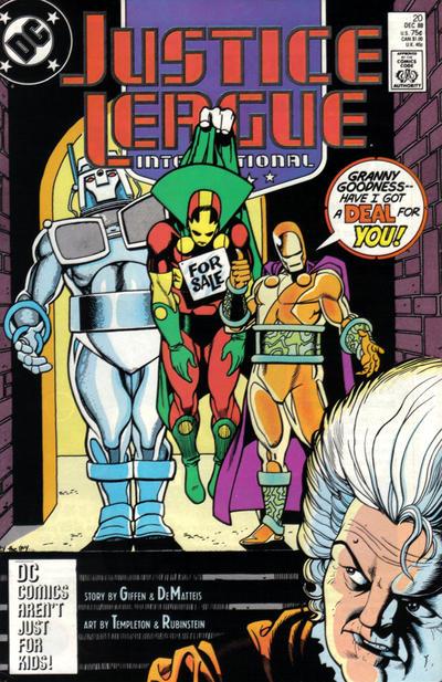 Justice League International Vol 1 20