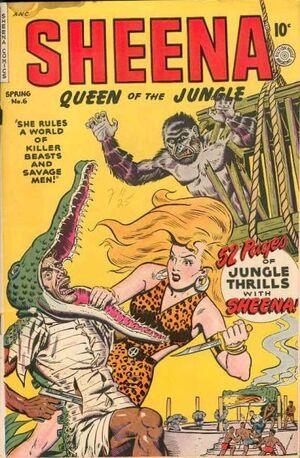 Sheena, Queen of the Jungle Vol 1 6