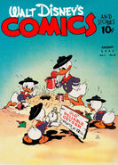 Walt Disney's Comics and Stories Vol 1 11