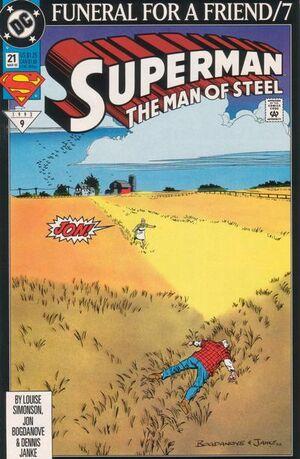 Superman Man of Steel Vol 1 21
