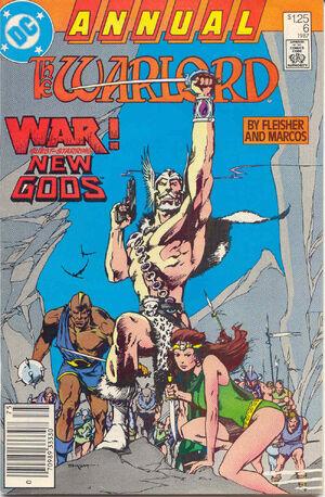 Warlord Annual Vol 1 6