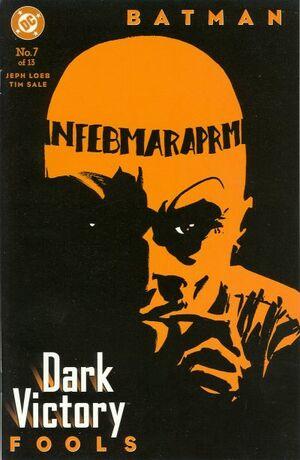 Batman Dark Victory Vol 1 7